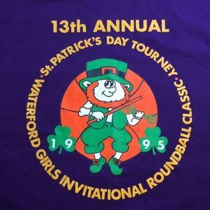 Vintage 1995 St Patricks Girls Roundball T Shirt